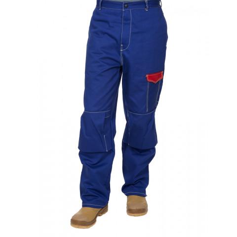 Bawełniane trudnopalne spodnie spawalnicze Fire Fox  33-2600  Weldas