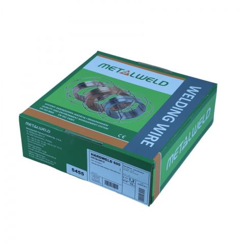 Drut spawalniczy HARDWELD 600 fi1,2 Metalweld