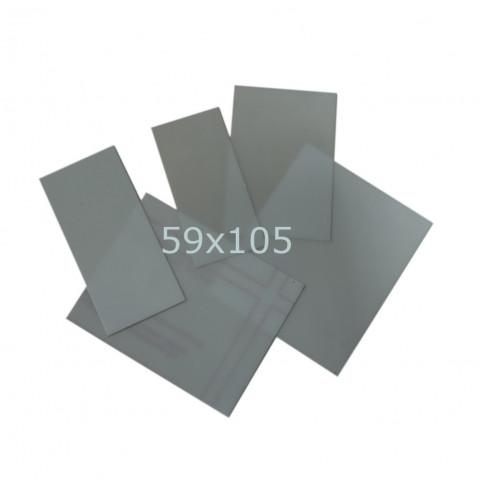 Szybka poliwęglanowa 59x105 mm