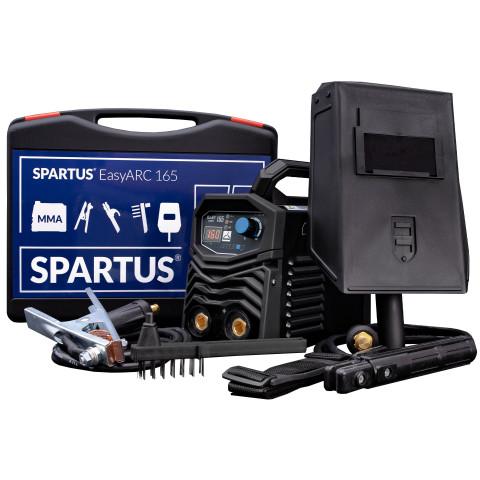 Spawarka inwertorowa EasyARC 165 Spartus (pakiet)