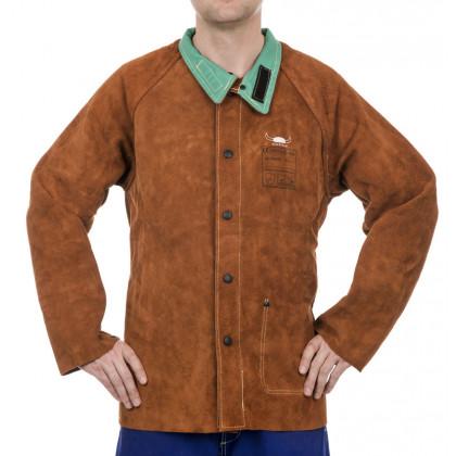 Skórzana kurtka spawalnicza Lava Brown 44-7300  Weldas