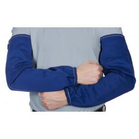Bawełniane rękawy spawalnicze Fire Fox, niebieskie, trudnopalne (para)  33-2320 Weldas