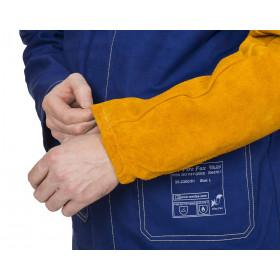 Skórzane rękawy spawalnicze Golden Brown 44-2321XL