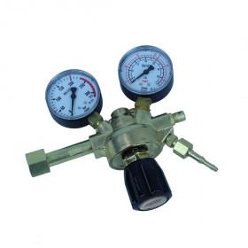 Reduktor butlowy Arg/CO2 ze wskaźnikiem manometrycznym Perun